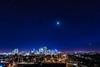 Orion Setting over Calgary (Amazing Sky Photography) Tags: april calgary hyades moon orion pleiadesbeltoforion sirius taurus twilight venus city cityscape evening lightpollution setting skyline urban
