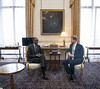 President Kagame meets with Prince Harry ahead of the Commonwealth Heads of Government Meeting (CHOGM)  | London, 17 April 2018 (Paul Kagame) Tags: kagame prince harry chogm rwanda justin trudeau canada commonwealth uk buckingham palace
