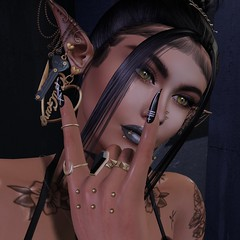 Don't even go there.... (Punki's Fashion Passion Blog) Tags: appliqueevent applique collabor88 collabor88event epiphanyevent kustom9event kustom9 mainstorereleases beaute catwa catwameshhead darkpassions goth1c0 insanya justmagnetized maitreya pichi randommatter su suicidalunborn swallow valekoer vibes villena zombiesuicide