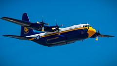 Blue Angels '09 (R24KBerg Photos) Tags: blueangels navalaviators canon airshow airplanes airplane plane fighter military navy flight flightdemonstrationteam seymourjohnsonafb c130 aircraft sky