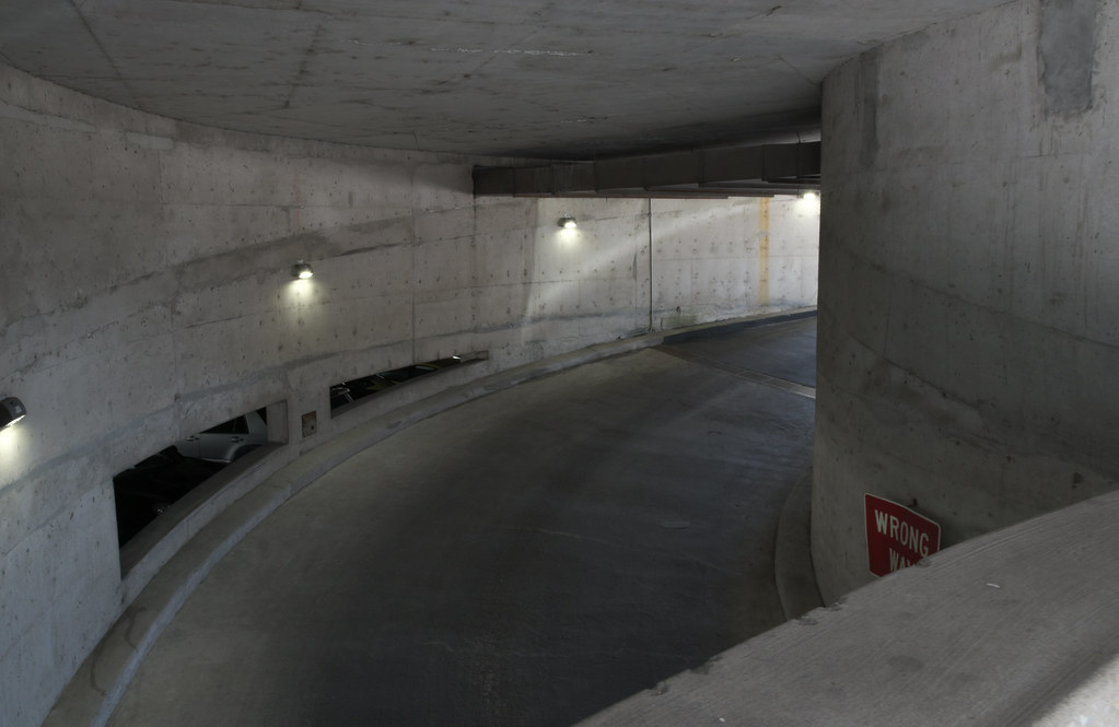 Concrete Garage (faasdant) Tags: Portland Oregon Downtown Modern  Architecture Spring Concrete Parking Garage