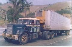 White sleeper: TCE#1101 (PAcarhauler) Tags: white semi sleeper tractor trailer truck
