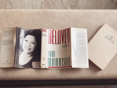 Toni Morrison's Beloved. First Edition. Published by New York's Knopf. Fished Out From the Pavement in a Delhi Bazaar. My Property for All Time.