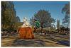 Rodéo (Jean-Marie Lison) Tags: eos80d sigmaart bruxelles anderlecht plainedejeuxscheutvel statue sculpture rollers saut