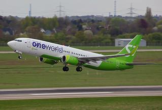 VQ-BKW, Boeing 737-8ZS S7 Airlines @ Düsseldorf DUS EDDL