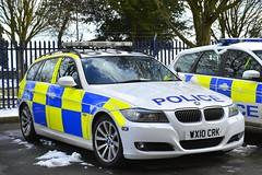 WX10 CRK (S11 AUN) Tags: avon somerset police bmw 330d 3series estate touring anpr traffic car rpu roads policing unit 999 emergency vehicle triforce wx10crk