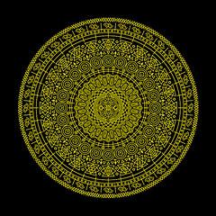 Ciclos (Calaveras y Gatitos) Tags: beginning space life death linear geometric moon symbols signs tribal native culture aborigine cycles circle