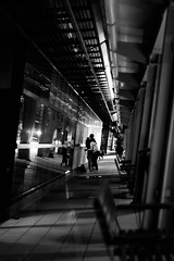 Taichung, Taiwan (The Curious Observer) Tags: bw candid blackandwhite night dark composition bnw street photography people 人文 紀實 黑白 單色 構圖 線條