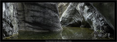 Rio de Taburiente in the Caldera de Taburiente, La Palma (Dierk Topp) Tags: pillowlava canaryislands islascanarias lapalma lava nikond70 pano panorama river wasser