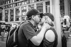 "He said: ""I love you"". She said: ""I'd love to"". (Markus Binzegger) Tags: blackandwhite blacknwhite blackwhite bnwstreet decisivemoment magnumphotos monochrome photography photostreet street streetbnw streetbw streetphotobnw streetphotobw streetphotographer streetphotographers streetphotography streetphotographybw streetphotos streetscene streetshot topbnw urbanandstreet kiss kissing love newyorkcity newyork ny bwstreet"