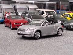 Audi TT (quicksilver coaches) Tags: audi tt hongwell cararama 172 176 oo diecast model