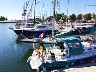 Dans le port de La Rochelle !!!