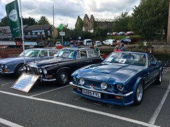 1988 Aston Martin Vantage X-Pack 5.3Litre V8 & 5 Speed manual Gearbox (mangopulp2008) Tags: isle wight classic car extravaganza 2017 1988 aston martin vantage xpack 53litre v8 5 speed manual gearbox