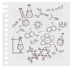 15709834_l-labequpment-pencilsketch (mghresearchinstitute) Tags: fundamental instrument background scientific laboratory structure education equipment discovery reactions chemistry physical solution molecule chemical message college vintage science physics texture biology element genetic organic formula medical grunge school sketch design symbol paper group retro book text icon word sign atom gene test art set old calculation illustration