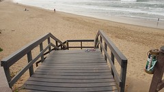 Down to the Beach (Rckr88) Tags: downtothebeach beach sand water coast coastline coastal ocean sea walkway pathway woodenwalkway wood wooden woodenpathway umhlangacoastline umhlanga durban south africa southafrica outdoors traveling travel