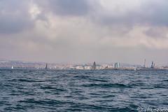 SEMANA NAUTICA MELILLA 2018. ESPERANDO LA SALIDA (josmanmelilla) Tags: melilla mar barcos azul agua nubes pwmelilla flickphotowalk pwdmelilla pwdemelilla semananautica nautica sony