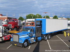 Mike McKay's 1973 Kenworth W900A with Mercury Sleeper (Michael Cereghino (Avsfan118)) Tags: 2016 aths national convention truck show salem mike mckay 1973 kenworth kw w900a w900 w 900 923 mercury sleeper 73 american historical society oregon