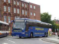 Stagecoach Yorkshire 54058 KX59 DLK on Rail Replacement, Malkin St, Chesterfield (sambuses) Tags: stagecoachyorkshire 54058 kx59dlk megabuscom railreplacement