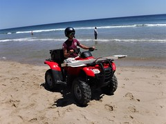 DSCF3190, Beach patrol, July 2018 (a59rambler) Tags: beach capecod massachusetts