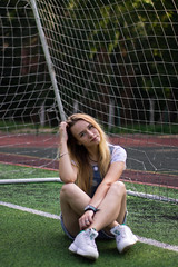 6460-3 (natarials) Tags: woman sports sport stadium drill football girl eyes emotion pretty style street lady cosy city happy beauty lifestyle phtography photography ukraine ukrainian outdoor outside out sun summer inspiration portrait gorgeous model people photo photoshoot amazing senior smile denim goldenhour fashion face glasses hair canon beautiful nature 50mm 1100d 18