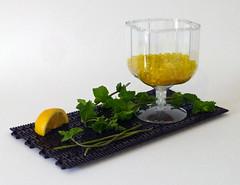 Beer, mint and lemon (Galerie d'Antha) Tags: galeriedantha beer lemon mint lego moc brickpirate contest bière menthe citron bpchallenge glass verre