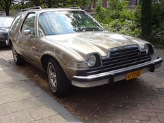 1978 AMC Pacer Wagon (Skitmeister) Tags: 47zh89 carspot nederland skitmeister car auto pkw voiture