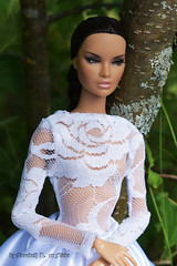 Erin (Annabeth R.) Tags: doll integrity toys fashion royalty fr nuface nu face erin salston metamorphosis heirloom collection wedding white dress forest portrait