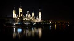 Zaragoza (cataldo.gerald) Tags: basilica espagne spain nightphoto saragosse zaragoza basilique basilicadelpilar