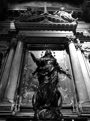 Faith (davidepremoselli) Tags: statue statua fede christ chiesa church madonna bw blackandwhite blackwhite faith nofilters