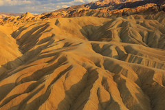 Zabriskie Point (leakylightbucket) Tags: deathvalley nationalpark zabriskiepoint california sunset goldenhour