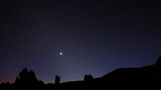 Night sky at Teide