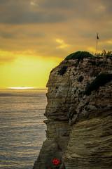 Raouche rock (mohammedjabry) Tags: lebanon beirut corniche mediterranean dslr canon 1200d sea sunset raouche raouché rock pigeon pigeonrock