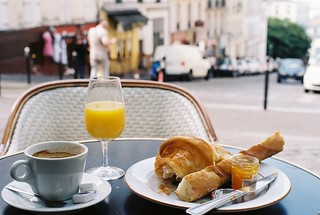 Breakfast In Montmartre