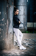 Demi (timmawphotography) Tags: demi skinner castlefield manchester training runner yoga photoshoot