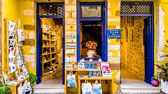 Shop (Kevin R Thornton) Tags: galaxy casadipietra crete architecture travel hotel greece shop city samsung mediterranean s6 chania mobile creteregion gr