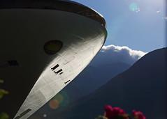Bow of Golden Princess Cruise Ship_04 (Scott_Knight) Tags: ship alaska princess clouds canon knight bow
