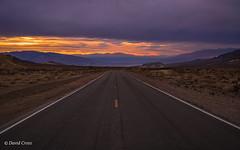 Sunset Descent Into Death Valley (buffdawgus) Tags: california deathvalleynationalpark landscape sunset highway canonef24105mmf4lisusm topazstudio inyocounty lightroom6 deathvalley canon5dmarkiii