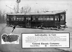 """Electric Railway Journal GE ad """"Individuality in Cars"""" (jsmatlak) Tags: lehigh traction streetcar trolley tram electric railway"""