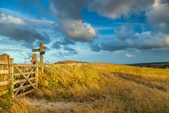 Crossroads (S l a w e k) Tags: southdowns sussex countryside landscape summer sunset
