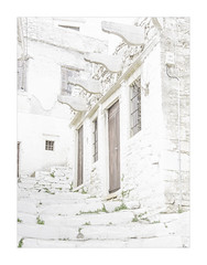 IMA_1738hb  High Key Apeiranthos (foxxyg2) Tags: hk highkey art apeiranthos naxos cyclades greece greekislands islandhopping islandlife marble doors alleys