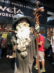 San Diego Comic-con 2018 (ellendesign) Tags: wetaworkshop weta lordoftherings gandalf cosplay sdcc sdcc2018