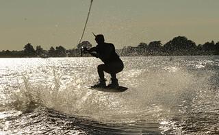 Anke wakeboard jump
