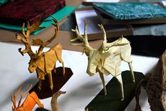Cérvidos (Marcos Origami) Tags: origami origamiart origamilatinoamerica origamilatino handmade art artwork paperart paper papercraft craftpaper craft papiroflexia deer cervidae caribu