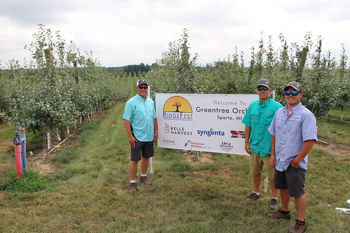 Fred, Jordan and Ryan Rasch of Green Tree Orchards