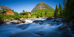 Summer in Norway (highflyer1964) Tags: norway longexposure sonyilce sonyilce7m2 landschaft fe1635mmf4zaoss himmel sonyalpha7m2 landscape norwegen ilce7m2 wasser langzeitbelichtung flus