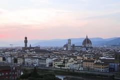 Florencja widok wzgorze Michelangelo (2)
