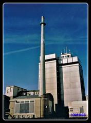 Bitburger Brauerei-Nord (Deutschland) (LOMO56) Tags: türme towerstorritorrestourstürme torri torres tours lagertürme bierlagertürme stadtansichtenbitburg hochhäuser bittower bürohochhäuser hochbau bitburg bitburgerland eifel südeifel