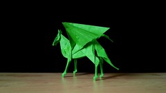 Pegasus (guangxu233) Tags: origami origamiart paper art paperart paperfolding pegasus kamiyasatoshi 折纸 折り紙 折り紙作品