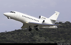 Dassault Falcon 900EX D-AHER @ Skiathos Airport (LGSK/JSI) (Joshua_Risker) Tags: skiathos airport lgsk jsi greece greek island dassault falcon 900 900ex f900 daher private jet