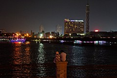Cairo, Egypt - Nile River (Therese Beck) Tags: cairo egypt cairoegypt nileriver egyptnileriver